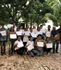 FBV promove curso de capacitação para comunidade local
